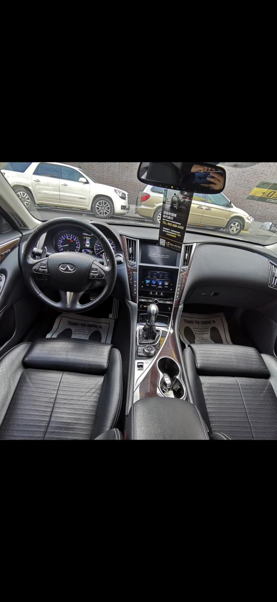 2015 infinti Q50S premium AWD 高配 开了35000Miles
