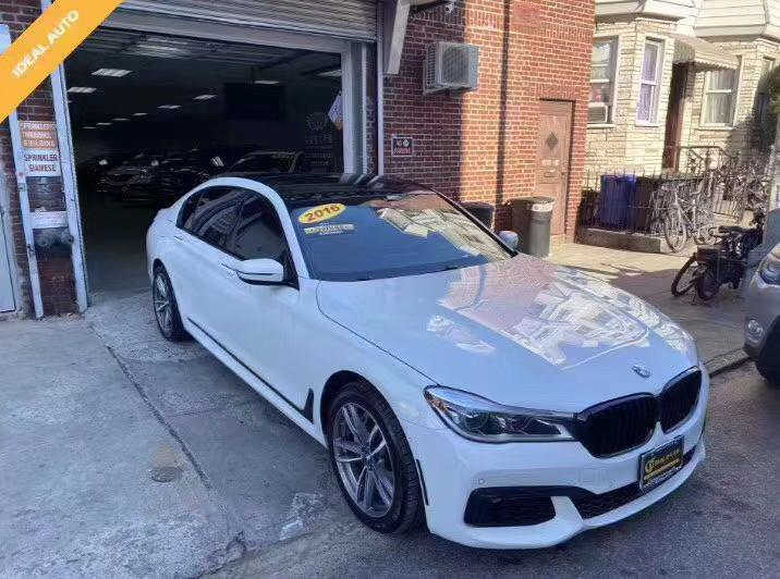 2016 BMW寶馬 7-SERIES 750I XDRIVE ALPINE WHITE/BLACK 34K MILES,带 m套件