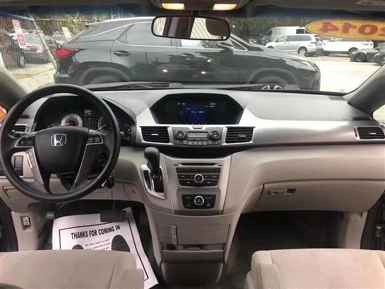 2014 Honda Odyssey LX ,7人座mini van 开了73000迈 接工人装修首选