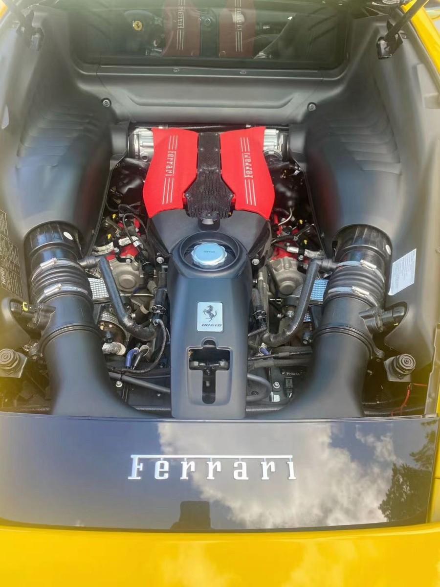 2018 Ferrari 法拉利488 GTB 11000迈, 找实力买家, 有兴趣预约看车 非诚勿扰。